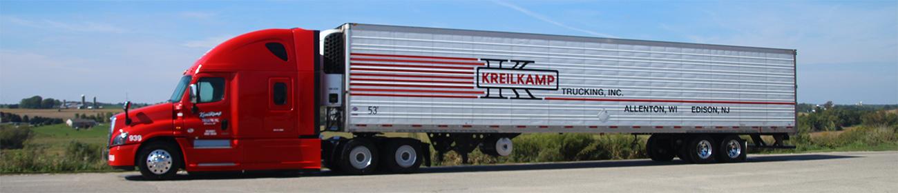 Kreilkamp Freight Solutions Over the Road